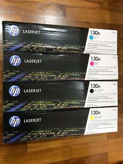 HP 130A Authentic Toner Full set 4 Colours