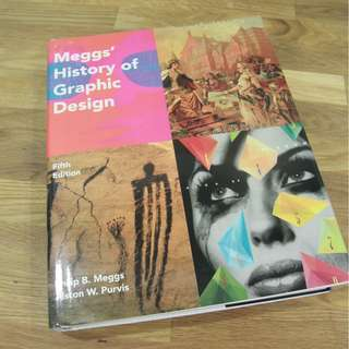 🚚 Megs' History of Graphic Design fifth edition