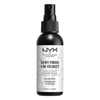 🚚 NYX Dewy Finish Setting Spray