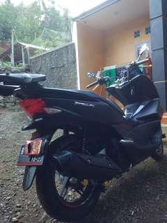 Honda pcx cbu hitam limitedEdition