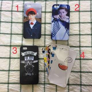 Pre-loved Iphone 5 / 5s / SE phone case