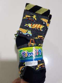 Construction Themed Children Fun socks (8 pairs)