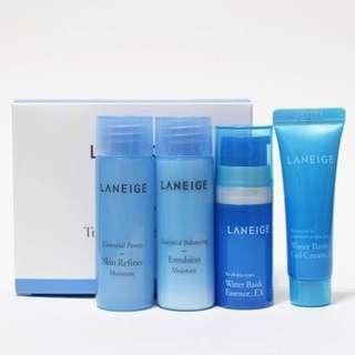 Laneige Water Bank Trial Kit (4items)