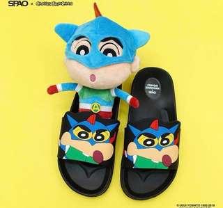 🇰🇷SPAO蠟筆小新拖鞋
