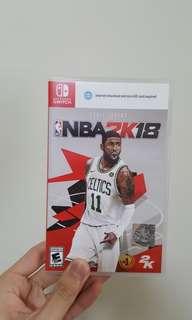 NBA2K18 NINTENDO SWITCH
