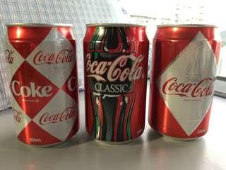 Coca Cola 可口可樂(全套三罐)