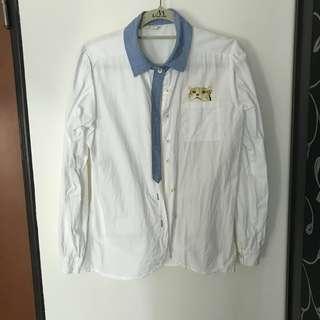 🚚 韓版薄襯衫
