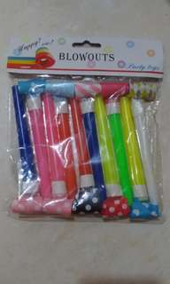 Blowout Party Toys