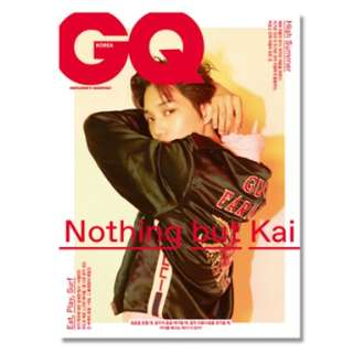 GQ KOREA 2018.07 - KAI COVER