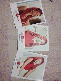 Red Velvet Yeri Polaroid Set