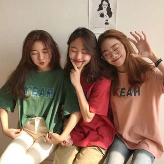 Women Yeah Color Tee