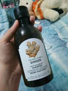 Ginger Shampoo The Body Shop