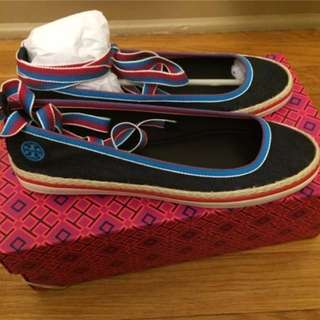 Authentic Tory Burch Espadrilles Shoes
