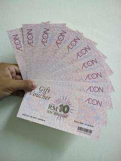 Aeon voucher