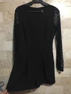 Blouse Ramper in Black