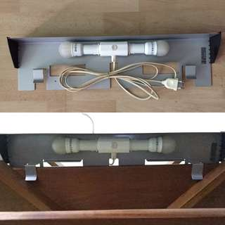 Lighting to clip to display shelf (57cm)