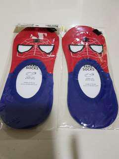 Spiderman design socks