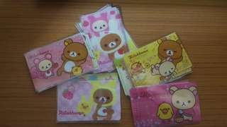 Rilakkuma Ezlink Card Sticker (22pcs)