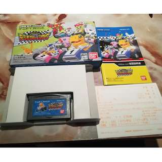 Digimon Cart Racing GBA