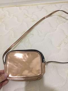 Monki laser sling bag
