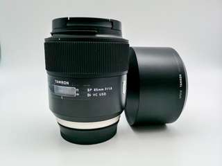 Tamron 85mm 1.8 VC SP for Canon EF