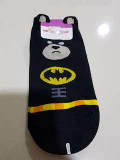 Batman themed Korean Socks