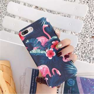 Flamingo Floral Hard Case
