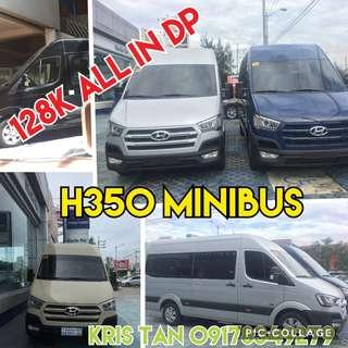 Hyundai H350 Minibus 14 seaters county rosa coaster