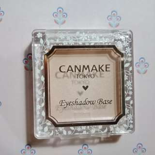 Canmake Eyeshadow Base/ Highlighter Cream