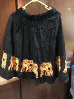 🚚 泰國帶回大象柔棉裙