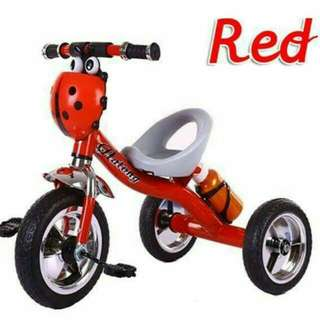 Ladybug tricycle with bottle Pm Wasap 0176725125