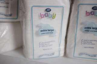 Boots extra large cotton wool pads