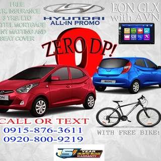 Hyundai Eon with GLX