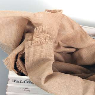 Burlap Cloth **RENTAL** Wedding / Events Props & Deco