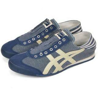 ONITSUKA TIGER PARATY SLIP ONS(AUTHENTIC)