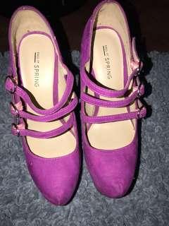 Call it Spring-Sky high heels