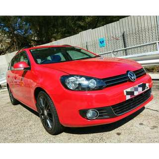 [0首旅行版!] 2011 年 Volkswagen Golf variant 1.4 TSI