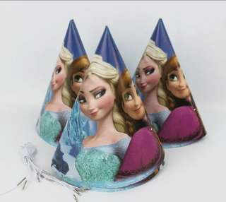 Frozen Party Hat(6 in a Pack)