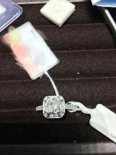 (AIG證書)1ct G VS1 高色1卡 diamond 鑽石戒指