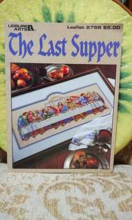 Cross Stitch Book - The Last Supper