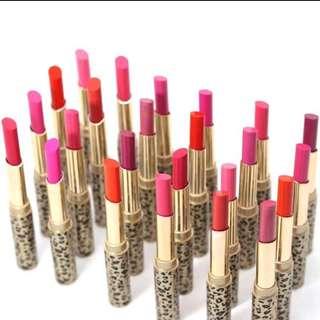 12pcs Colors Leopard Lipstick Lip Gloss Long Lasting