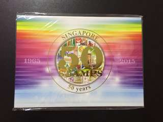 Limited edition 50 Stamps for 50 Years