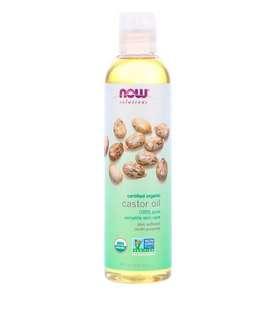 🚚 Now Organic Castor oil