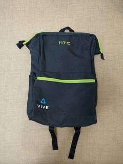 HTC VIVE 黑灰 後背包 筆電包  登山包 (宏達電股東會紀念品) (全新)
