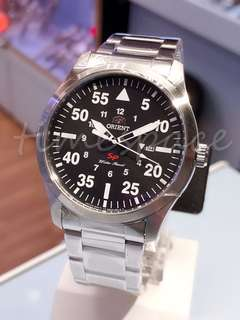 ORIENT Military Date FUNG2001B0 (石英錶)