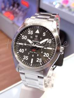 ORIENT Military Date FUNG2001F0 (石英錶)