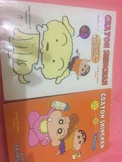 Sinchan 2 buku (masing2 5,000 beli semua 8,000)