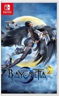 Bayonetta 2 Nintendo Switch WTS WTT