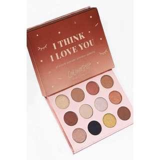 🚚 Colourpop I Think I Love You Pressed Powder Shadow Palette