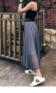 Looking for long pleated skirt